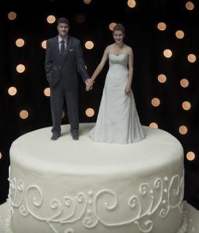Реалистичные свадебные фигурки